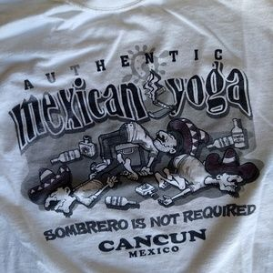 Vintage Cancun Yoga tee